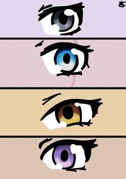 Team RWBY Eyes