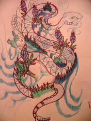 snake tat expirement by PhantomBross