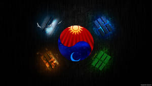 Korea flag Wallpaper by ShiveroFX