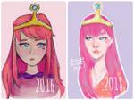 Princess Bubblegum by lycheearts