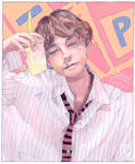 Taehyung by lycheearts