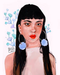 Emily Bador by lycheearts