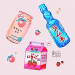 Kawaii Drinks by lycheearts