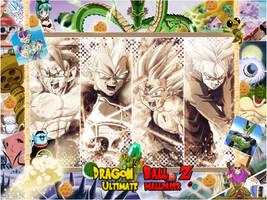 Wall' Dragon Ball Z by brolyomega