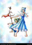 Cirno and Daiyousei