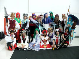 Touhou Group Cosplay by Reef1600