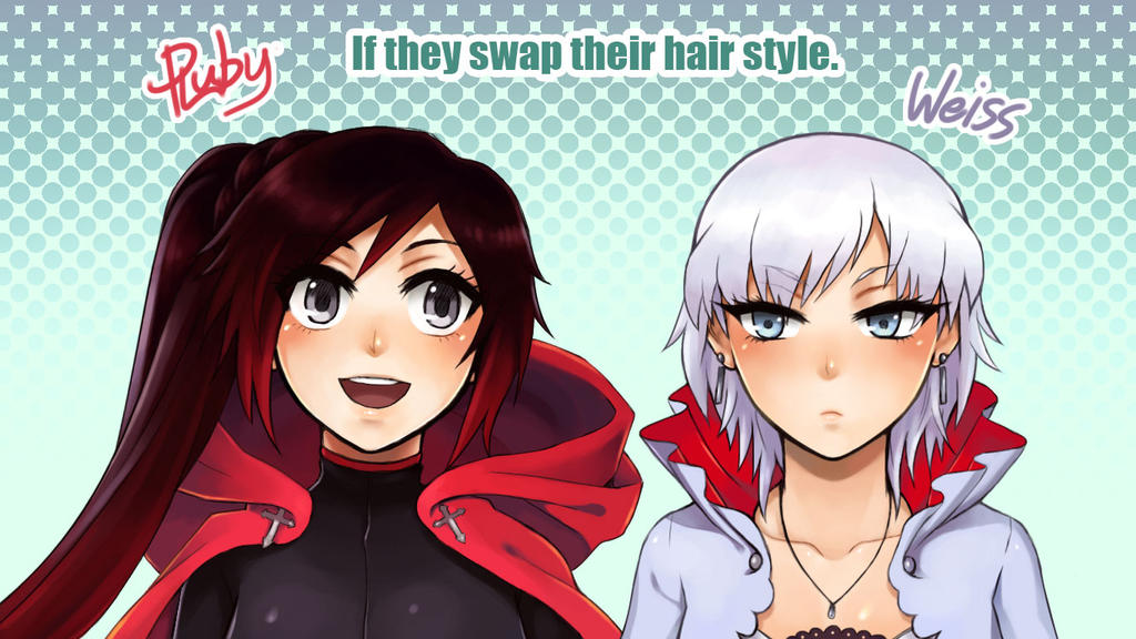 [RWBY] Hairstyle Swap! by Reef1600 on DeviantArt