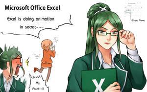 [Program Girl] Microsoft Office Excel by Reef1600