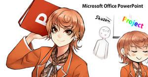 [Program Girl] Microsoft Office PowerPoint by Reef1600