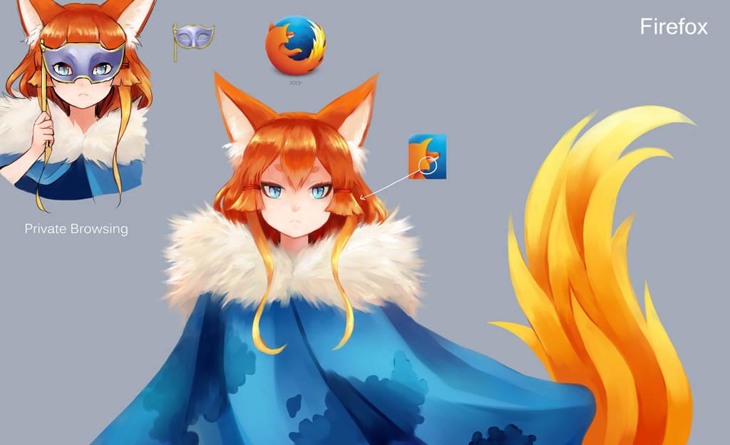[Program Girl] Firefox by Reef1600