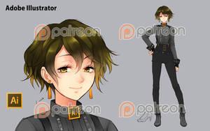 [Program Girl] Adobe Illustrator by Reef1600