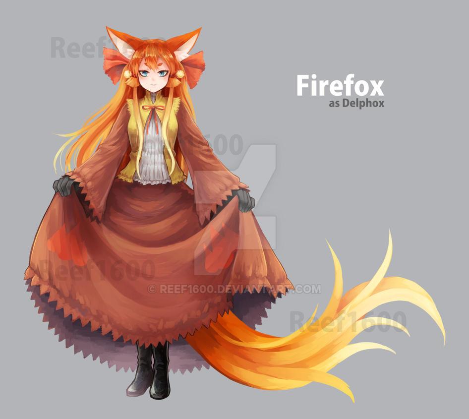 [Program Girl] Firefox cosplay as Delphox by Reef1600