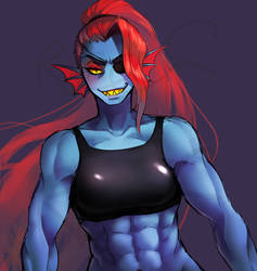 Undyne by Reef1600