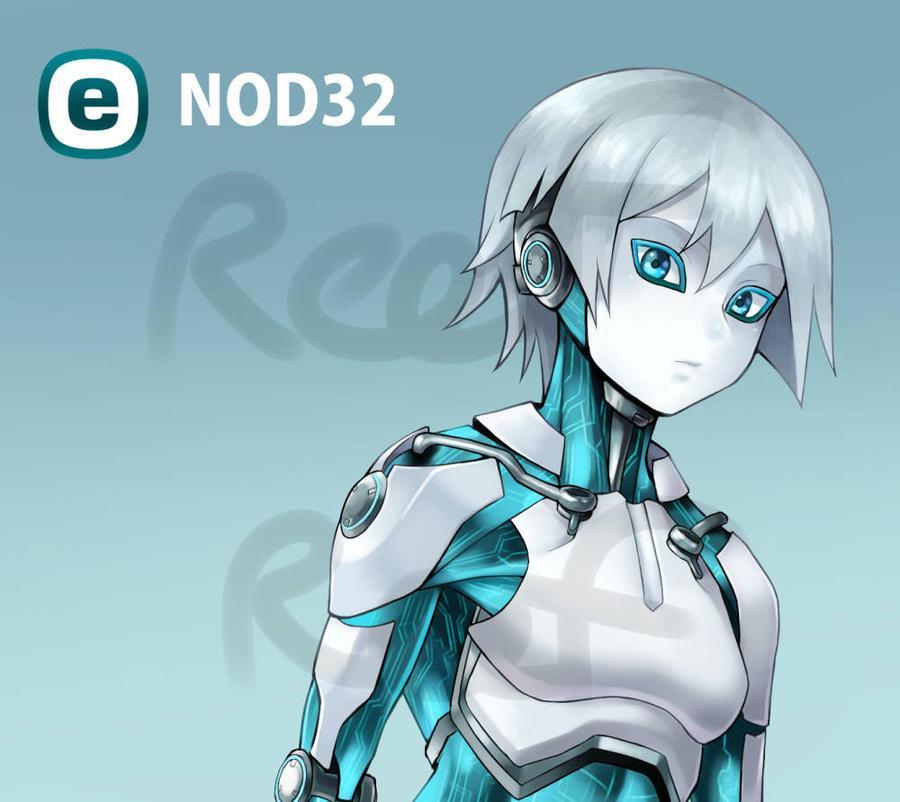 program girl  nod32 by reef1600 on deviantart
