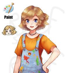 [Program Girl] Paint (remake)