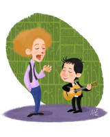 Simon and Garfunkel 2 by LArtisteInconnu