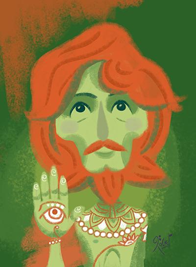George Harrison by LArtisteInconnu