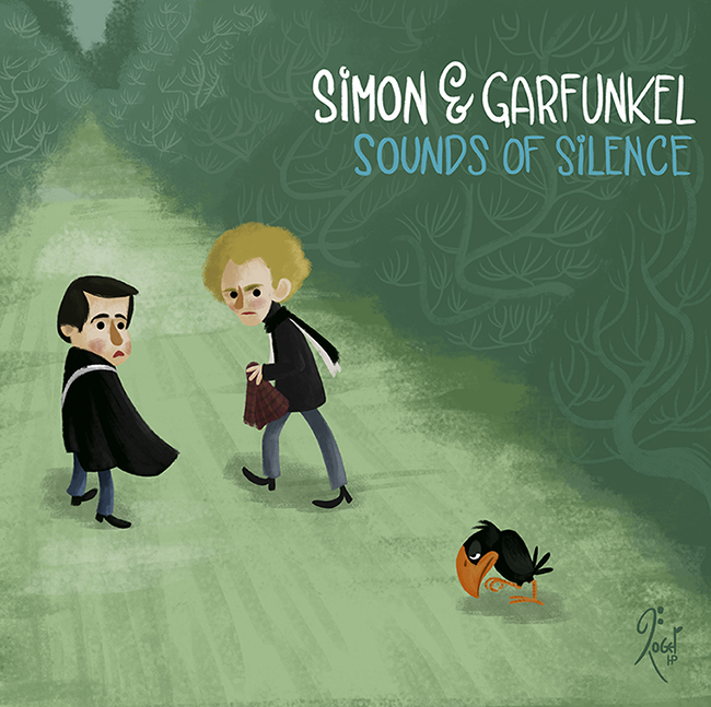Simon and Garfunkel SOUNDS OF SILENCE by LArtisteInconnu