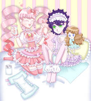candy girl and dolly boy by udonyachelia