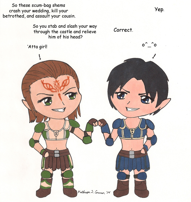 Wee Wardens: The Elves