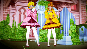 Nintendo Princesses: Peach and Daisy #1
