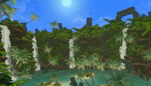 Skyrim SE: A secret tropical Island in Skyrim?