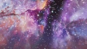 Bright Nebula Starry Sky
