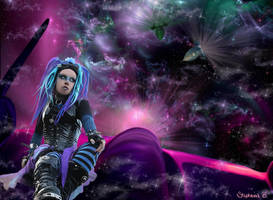 Hitchin A Ride Thru The Galaxy by tndrhrtd37