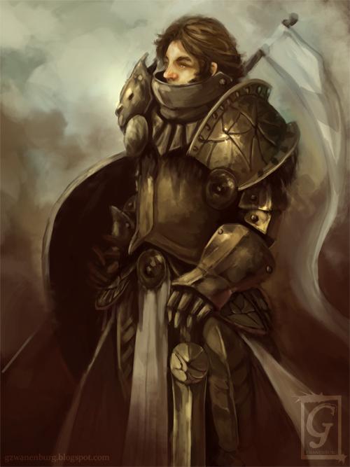 Dragon Knight by Zwanbg