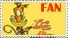 Caml lazlo fan stamp by Inguac