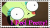 I feel Pretty stamp by Inguac