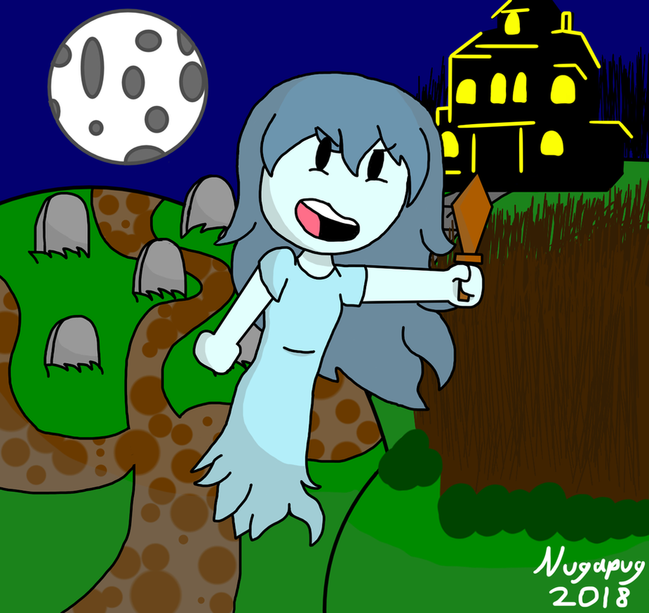 Spooky in the night by nugapug