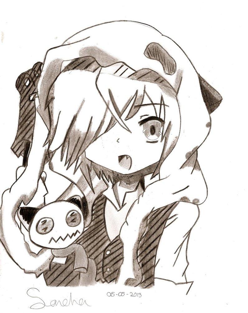 Anime panda girl boy by weirdxgirl on deviantart