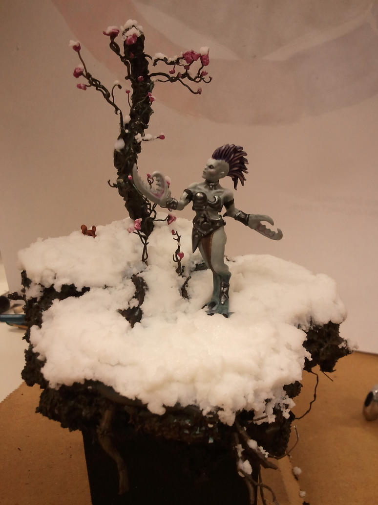 Daemonette diorama 2 by skincoffin