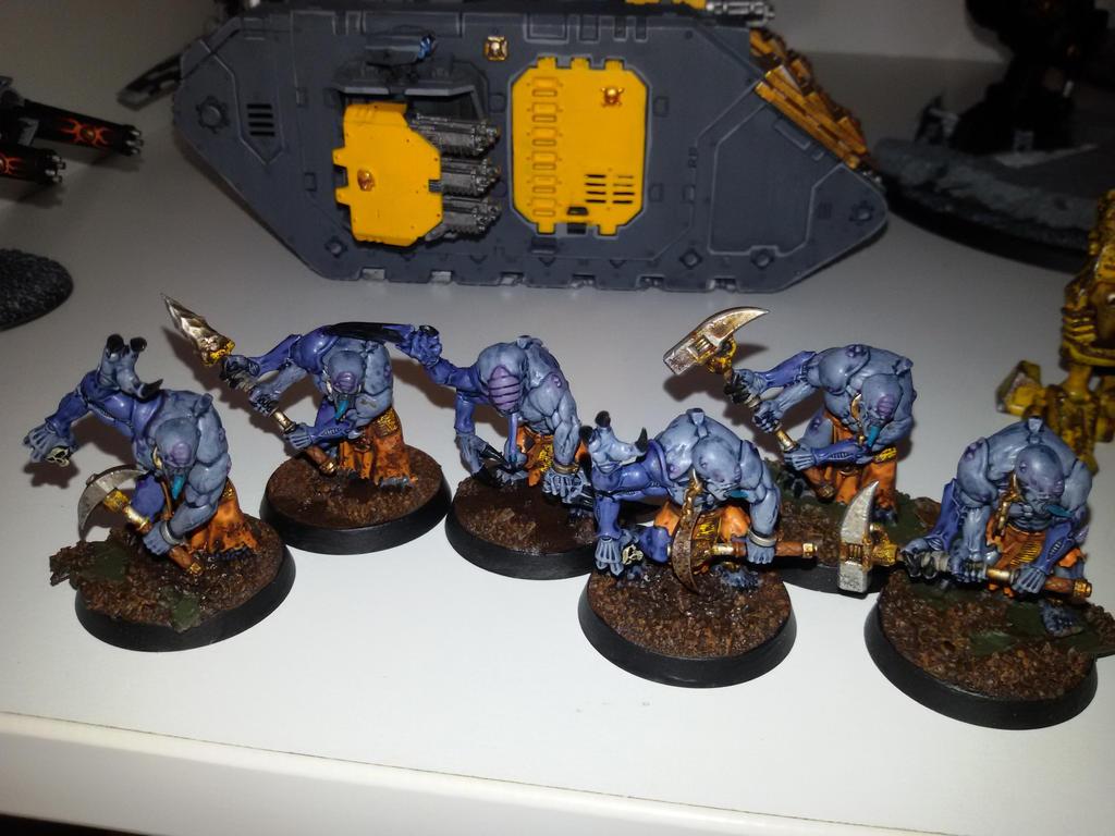 Genestealer Cult Mechanicus Ruststalkers 3 by skincoffin