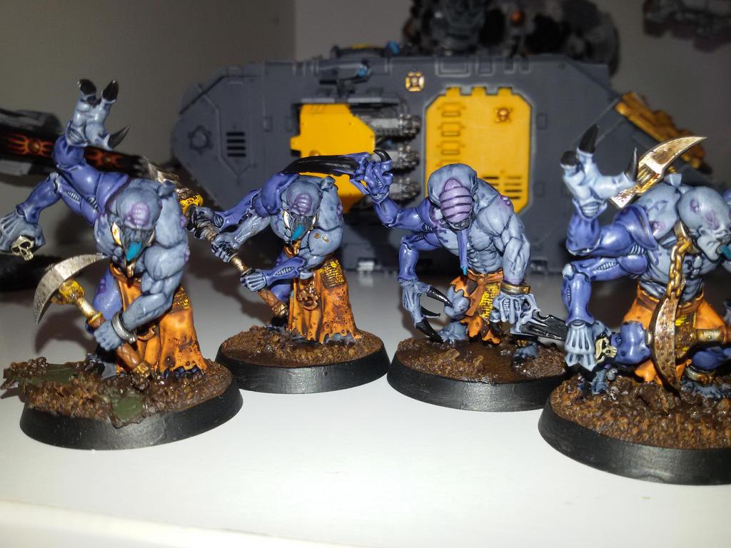 Genestealer Cult Mechanicus  Ruststalkers 4 by skincoffin
