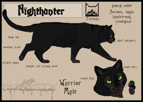 Nighthunter sheet by Dalkur
