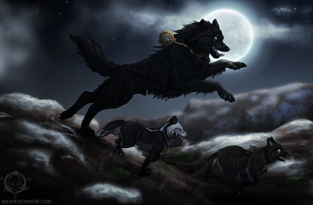 Moonlit by Dalkur