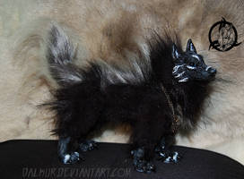 Ooak art doll canine 1