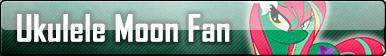 Ukulele Moon fan button by ButtonCreator