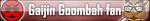 Gaijin Goombah fan button by ButtonCreator