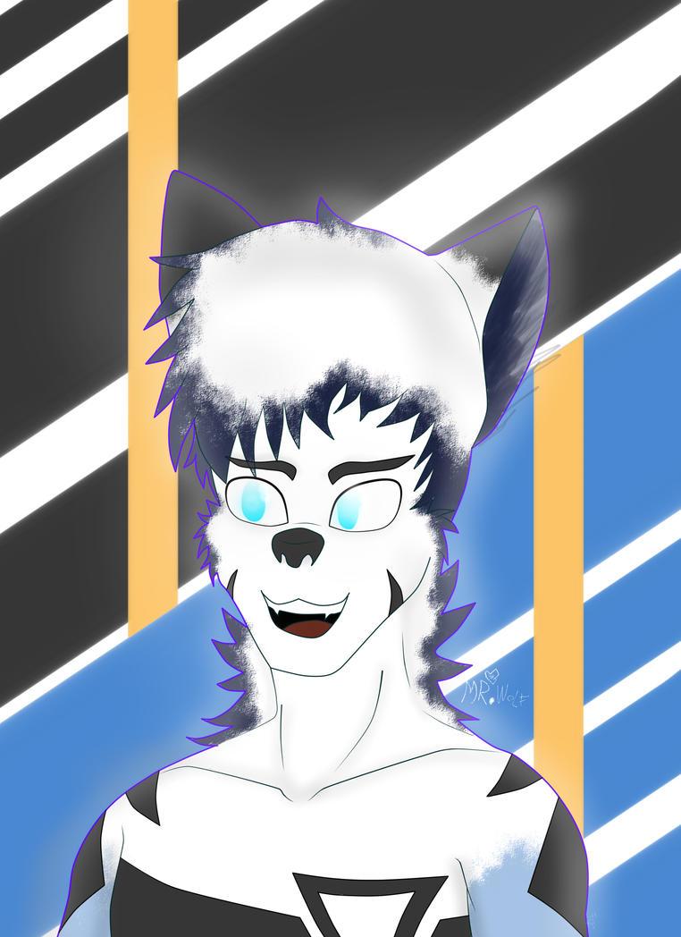 Mr.Wolf V. Speed Light by Foxymenn