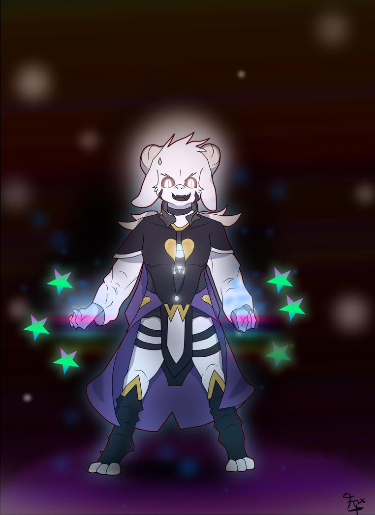 My Version Of: Asriel Dreemurr by Foxymenn