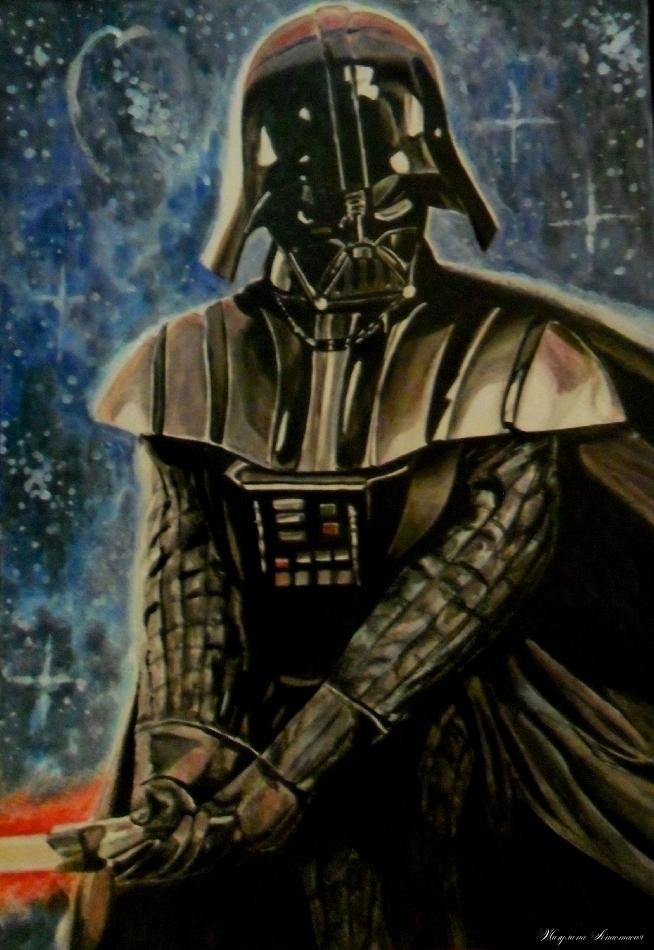 Darth Vader by Nastyfoxy