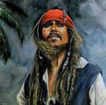 Jack Sparrow by Nastyfoxy