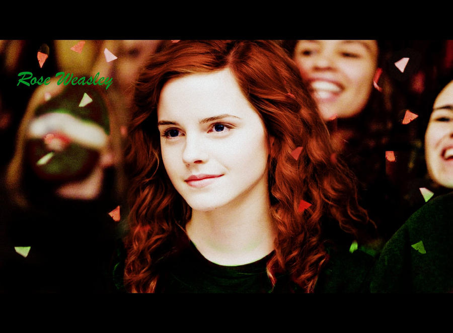 Rose weasley by gaietta25 on deviantart - Rone harry potter ...