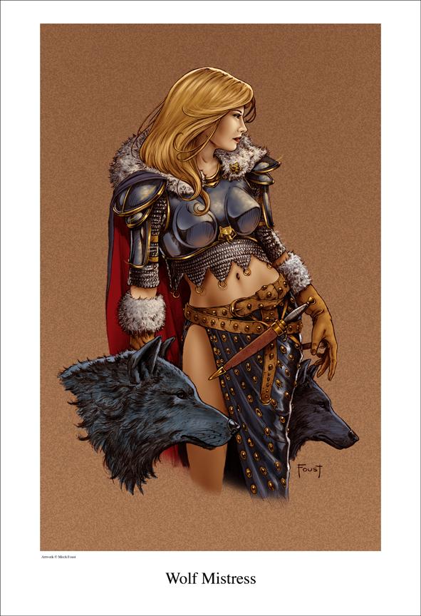 Wolf Mistress by MitchFoust