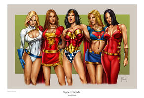 Super Friends by MitchFoust