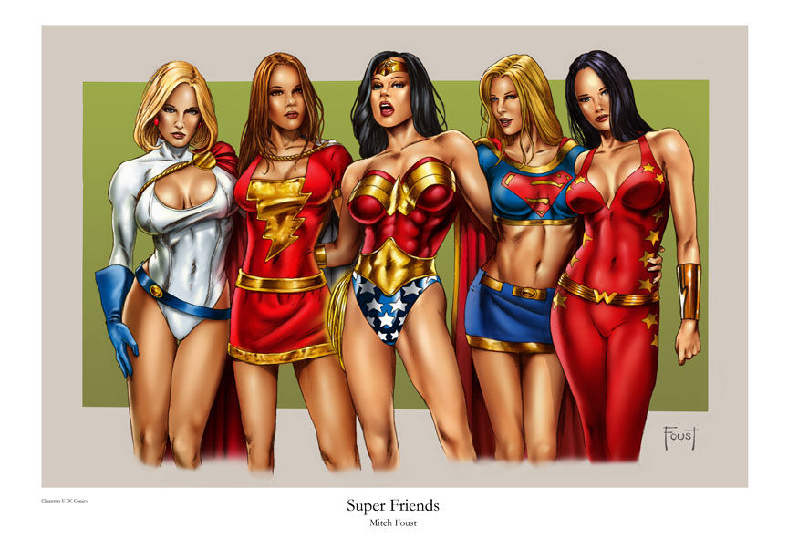 Super Friends by MitchFoust