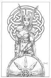 Shield Maiden 1 by MitchFoust